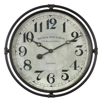 Uttermost Nakul Industrial Wall Clock (85|06449)