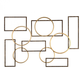 Uttermost Elias Bronze And Gold Wall Art (85|04062)