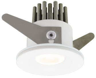 42MM White Recessed Spot Light (44|RMS12-30-401-WH)