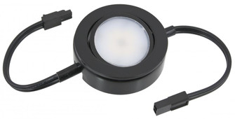 MVP LED Puck Light, 120 Volts, 4.3 Watts, 250 Lumens, Black (44|MVP-1-30-BK-B)