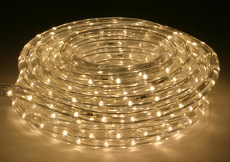 15 Foot Warm White 3000 Kelvin LED Flexible Rope Light Kit with Mounting Clips (44|LR-LED-WW-15)