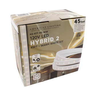 120 Volt HYBRID2 Kit, 2700K White, 45 Foot, 135 Watts, 150 Foot Max Run, C/ETL/US (44|H2-KIT-45-WW)