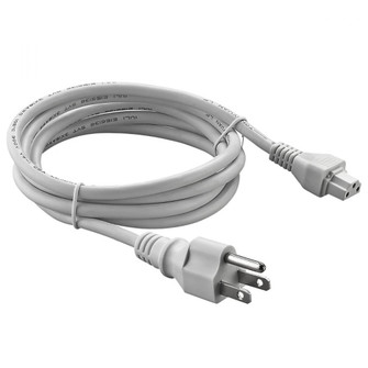 72 in. White Power Cord (245|LEDPC72WH)