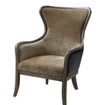 Uttermost Snowden Tan Wing Chair (85|23158)