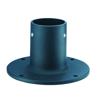 Lamp Posts Accessories Collection Flange Base Accessory (245|C2403BK)