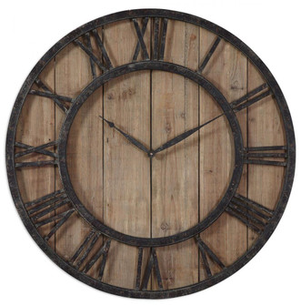 Uttermost Powell Wooden Wall Clock (85|06344)