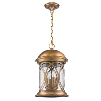 Lincoln 4-Light Antique Brass Hanging Light (245|1533ATB)