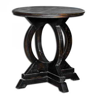 Uttermost Maiva Black Side Table (85|25630)