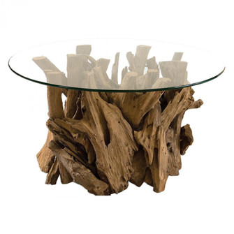 Uttermost Driftwood Glass Top Cocktail Table (85 25519)