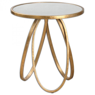 Uttermost Montrez Gold Side Table (85|24410)