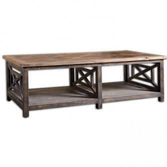 Uttermost Spiro Reclaimed Wood Cocktail Table (85|24264)