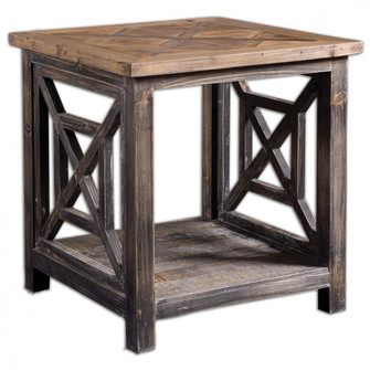 Uttermost Spiro Reclaimed Wood End Table (85|24263)