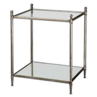 Uttermost Gannon Mirrored Glass End Table (85|24282)