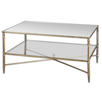 Uttermost Henzler Mirrored Glass Coffee Table (85 24276)