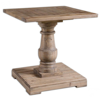 Uttermost Stratford Pedestal End Table (85|24252)
