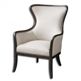 Uttermost Sandy Wing Back Armchair (85|23073)