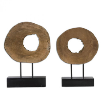 Uttermost Ashlea Wooden Sculptures S/2 (85|19822)