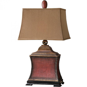 Uttermost Pavia Red Table Lamp (85|26326)