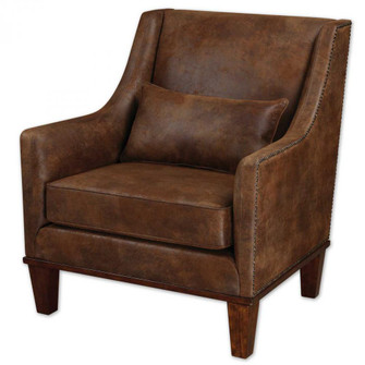 Uttermost Clay Leather Armchair (85|23030)