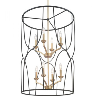 Landree Collection Eight-Light Foyer (149|P500177-031)