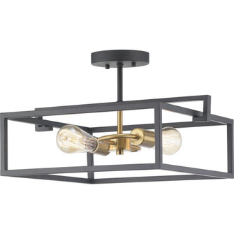 Blakely Collection Two-Light Semi-Flush Convertible (P350120-143)