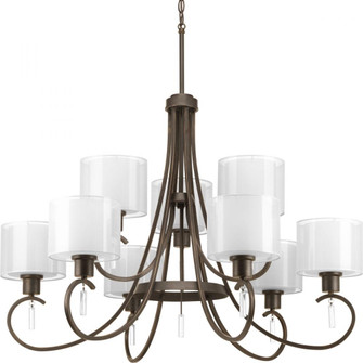 Invite Collection Nine-Light, Two-Tier Chandelier (P4697-20)