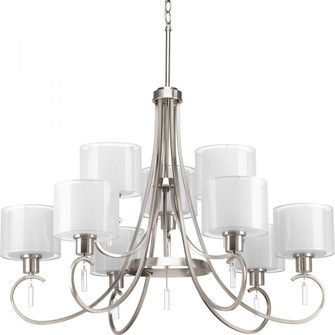 Invite Collection Nine-Light, Two-Tier Chandelier (149 P4697-09)