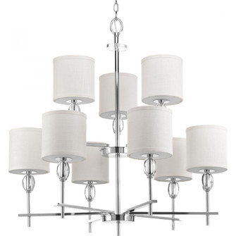 Status Collection Nine-Light, Two-Tier Chandelier (149 P4142-15)