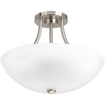 """Gather Collection Two-Light 12-7/8"""" Semi-Flush Convertible (149