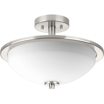 """Replay Collection Two-light 14-3/4"""" Semi-Flush (149