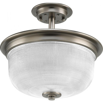 """Archie Collection Two-Light 11-3/8"""" Semi-Flush Convertible (149