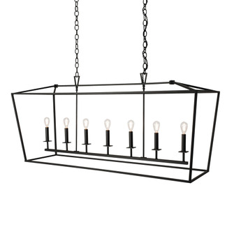LINEAR CAGE PENDANT (148|1083-MB-NG)