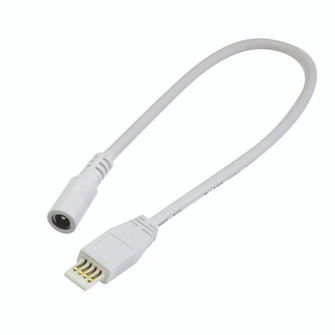 24''  Power Line Cable for Lightbar Silk,  White (104|NAL-808/24W)