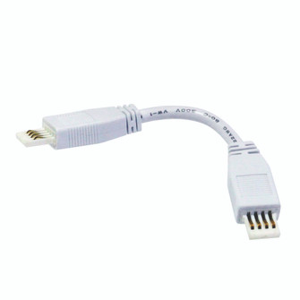 6'' Flex SBC Interconnection Cable for Lightbar Silk, White (104|NAL-806W)