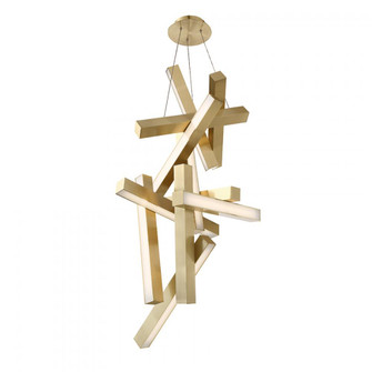 Chaos Chandelier Light (3192|PD-64849-AB)