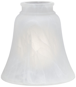 ETCHED MARBLE GLASS SHADE (39|2652)