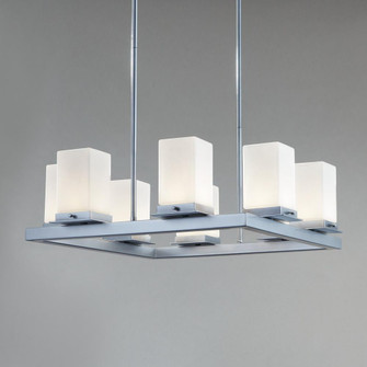Outdoor Chandelier (254|FSN-7519W-OPAL-NCKL)