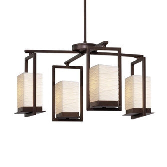 Laguna 4-Light LED Outdoor Chandelier (254|PNA-7510W-WAVE-DBRZ)