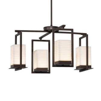 Laguna 4-Light LED Outdoor Chandelier (254|PNA-7510W-SAWT-DBRZ)