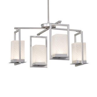 Laguna 4-Light LED Outdoor Chandelier (254|FSN-7510W-WEVE-NCKL)