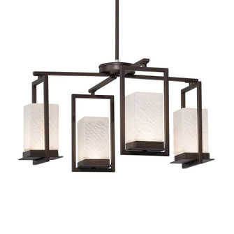 Laguna 4-Light LED Outdoor Chandelier (254|FSN-7510W-WEVE-DBRZ)