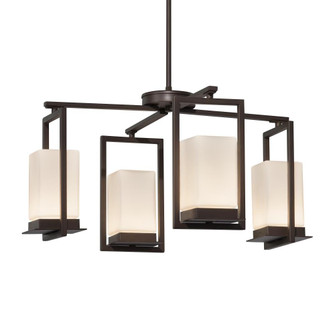 Laguna 4-Light LED Outdoor Chandelier (254|FSN-7510W-OPAL-DBRZ)