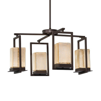 Laguna 4-Light LED Outdoor Chandelier (254|FSN-7510W-MROR-DBRZ)