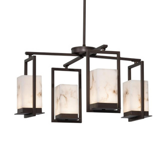 Laguna 4-Light LED Outdoor Chandelier (254|FAL-7510W-DBRZ)