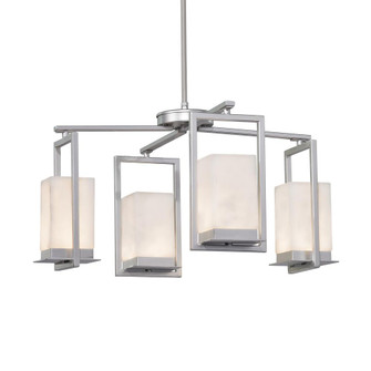 Laguna 4-Light LED Outdoor Chandelier (254|CLD-7510W-NCKL)