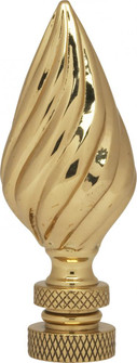PF9035 FLAME RIBBED BRASS FIN (27|90/1744)