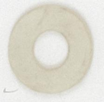 1/8 X 2'' WHITE RUBBER WASHER (27 90/156)