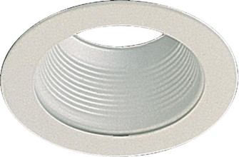 """5"""" STEPPED BAFFLE - WH (83 9500-06)"""