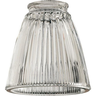 """2.25"""" CLEAR RIBBED BELL (83