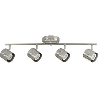 Kitson Collection Brushed Nickel Four-Head Multi-Directional Track (P900014-009)